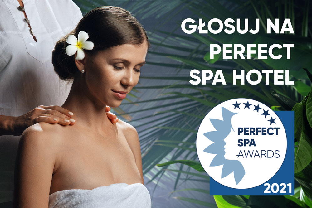 Perfect SPA Awards 2021 glosuj hotel